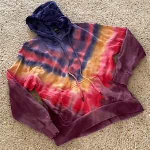 Wild fable tie dye hoodie size small